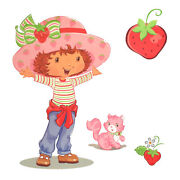 Wholesale Huge Lot 2000 - Strawberry Shortcake Wall Accent - Girls Decal Sticker