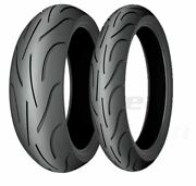Pilot Power 2ct Front And Rear Tire Set 190/50zr-17 120/60zr17 - 2151324566