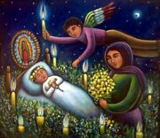 Painting By Mexican Artist Esau Andrade