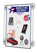 Window Sign Poster Holder With Suction Cups For 22 X 28 Qty 4