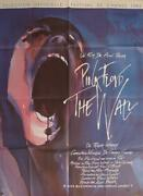 Pink Flyod The Wall - Waters / Geldof / Rock- Original Large French Movie Poster