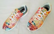 Unisex Size 6 Men/8 Women Multicolor Yes We Vibe Teach Peace Casual Sneakers