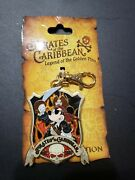 Disney Mickey Mouse Pirates Of The Caribbean Lanyard Medal
