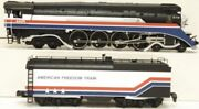 Mth Premier American Freedom 4-8-4 Gs-4 Steam Engine Protosound 2.0 Ps2 New