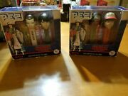 Stranger Things Pez Candy Dispensers Lot Of 2 Eleven Mike Lucas Dustin New