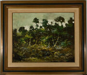 Miguel Rey - Framed Contemporary Oil The Forest