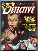 New Detective Pulp March 1947- Death Lives Here- Robert Turner Fn+