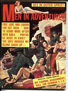 Men In Adventure-3/1962-george Gross-spicy Nazi Abuse Vf-