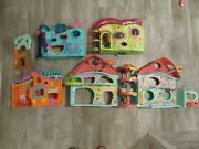Littlest Pet Shop Lot Of Houses Play Sets Play Pretend Houses Large House
