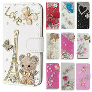 For Motorola Moto E5 Play/cruise/go 3d Nice Bling Leather Wallet Flip Case Cover