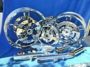 Harley 2014 To 19 Chrome Street Glide Enforcer Rims Build Your Own Package