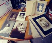 17 Vintage Antique Cabinet Cards Cute Baby Pictures Photo Collection Victorian +
