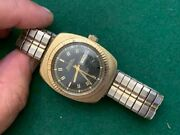 Vintage Bulova Oceanographer Automatic 333 Feet With Day Date Mens Wristwatch