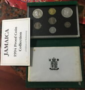 Jamaica 1994 Hemingway Mint Box Proof Set Of 7 Coinsmintage Only 500sets