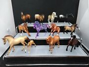 Breyer Lot Of 12 Mini Whinnies Horse Figures