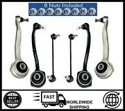For Mercedes-benz C-class Front Upper And Lower Control Arms And Drop Links Kit