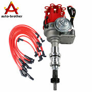 Small Cap Hei Distributor And Spark Plug Wires 8mm For Small Block Ford 289-302