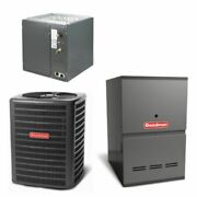 Goodman - 2.5 Ton Cooling - 100k Btu/hr Heating - Air Conditioner + Variable ...