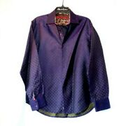 Robert Graham - Colorful Long Sleeve - Menand039s Medium Button Down Classic Fit