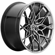 21 Hre Ff10 Silver 21x9.5 Forged Concave Wheels Rims Fits Audi S6