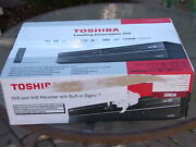 New Toshiba Dvr670 Dvd Vhs Recorder Player Vcr Combo W/ Built In Digital Tuner