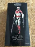 Sideshow Star Wars Imperial Shock Trooper 12 1/6 Action Figure Emperor New Rare