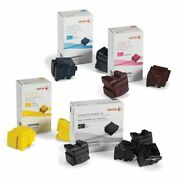 2x Oem Sets Of Ink For Xerox Colorqube 8570/8580