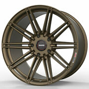 20 Momo Rf-10s Bronze 20x9 Forged Concave Wheels Rims Fits Tesla Model S