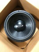 Audioque Sd2.5 15 Subwoofer Dvc 4 Ohm -used Excellent- Old School Car Audio