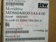 Sew Mds60a0030-5a3-4-00 Fast Ship By Dhl Or Ems