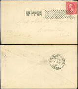 4/1/1896 Baltimore Md Cds April Fools Day Barry Machine Cancel To Columbus Ohio