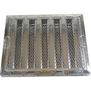 Stainless Steel Hood Filter With Hook And Spark Arrestor, 16 X 20 X 2