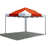 Partytentsdirect 10x10' Commercial Frame Tent Vinyl Red White Canopy Pavilion
