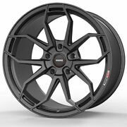 19 Momo Rf-5c Gray 19x10 19x11 Forged Concave Wheels Rims Fits Ford Mustang