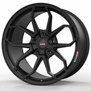 19 Momo Rf-5c Black 19x9 19x10 Forged Concave Wheels Rims Fits Ford Mustang Gt