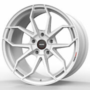 19 Momo Rf-5c White 19x8.5 19x9.5 Concave Wheels Rims Fits Ford Mustang Gt