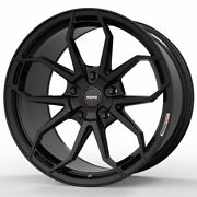 19 Momo Rf-5c Gloss Black 19x9 Forged Concave Wheels Rims Fits Toyota Camry
