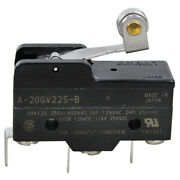 Frymaster, Momentary On/off Mini Micro Lever Roller Switch - 20a-125/250v