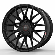 19 Momo Rf-20 Gloss Black 19x9 Concave Forged Wheels Rims Fits Toyota Camry