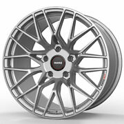 19 Momo Rf-20 Silver 19x8.5 19x9.5 Concave Forged Wheels Rims Fits Ford Mustang