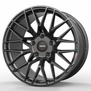 19 Momo Rf-20 Grey 19x8.5 19x9.5 Concave Wheels Rims Fits Ford Mustang Gt