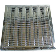 20 X 20 X 2 Stainless Steel Hood Filter With Hook And Spark Arrestor