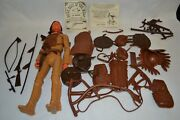 Vintage Marx Johnny West 3rd Issue Chief Cherokee Accessories Box Manuals 1967