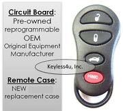 New For 04602268 Remote Key Fob Keyless Entry Control Transmitter Clicker Opener