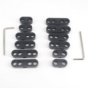 2 Sets 7mm 8mm Black Spark Plug Wire Separators Dividers Looms Chevy Ford 9723b