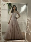 New Essence Of Australia Wedding Dress Style D2218 Discontinued Style