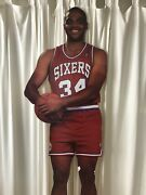 Charles Barkley Lifesize Wooden Backed Measure Up Poster Must See