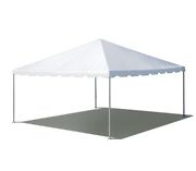 15and039x15and039 Commercial Frame Tent White Vinyl Canopy Waterproof Event Pavilion