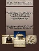 Yankton Sioux Tribe Of Indians V. U S U.s. Supr, Court,,