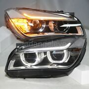 2009-2014 Year Led Strip Headlights For Bmw X1 E84 Led Angel Eyes Front Lamps Lf